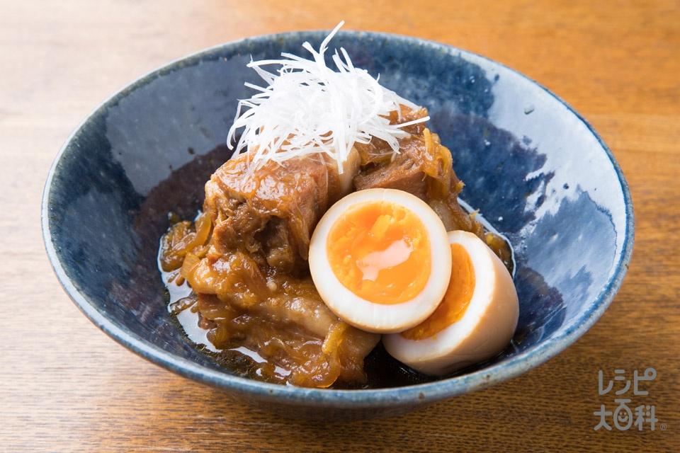 トロトロ!豚の角煮(豚バラかたまり肉+米のとぎ汁を使ったレシピ)