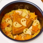 ハロウィン鶏パエリアプレートの作り方_3_0