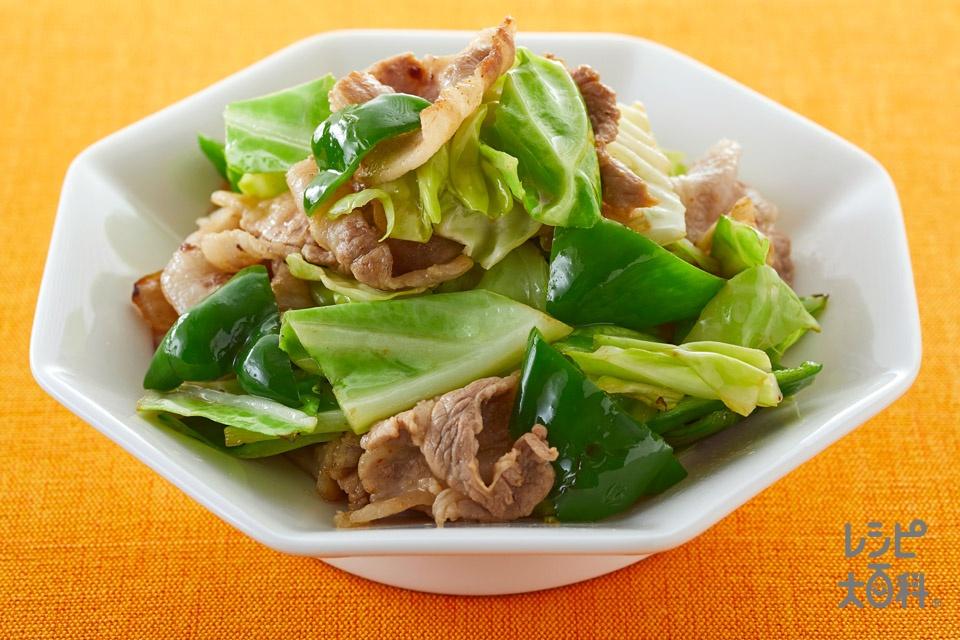 豚肉ときゃべつの中華炒め
