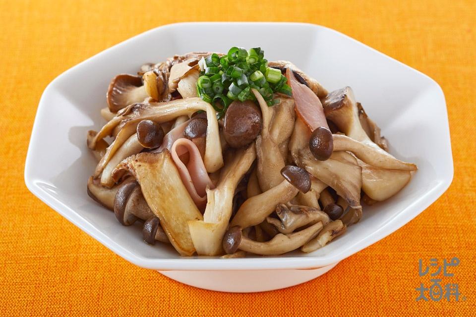 きのこの中華炒め(しめじ+まいたけを使ったレシピ)
