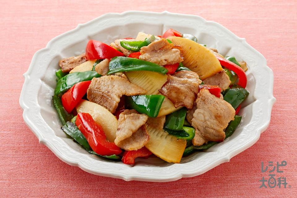 豚肉とピーマンの中華炒め
