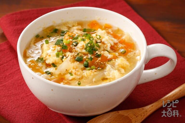 人参とろとろ中華スープ
