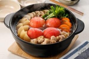 大根トマトの和風鍋