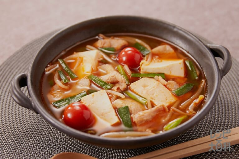 スタミナピリ辛スープ