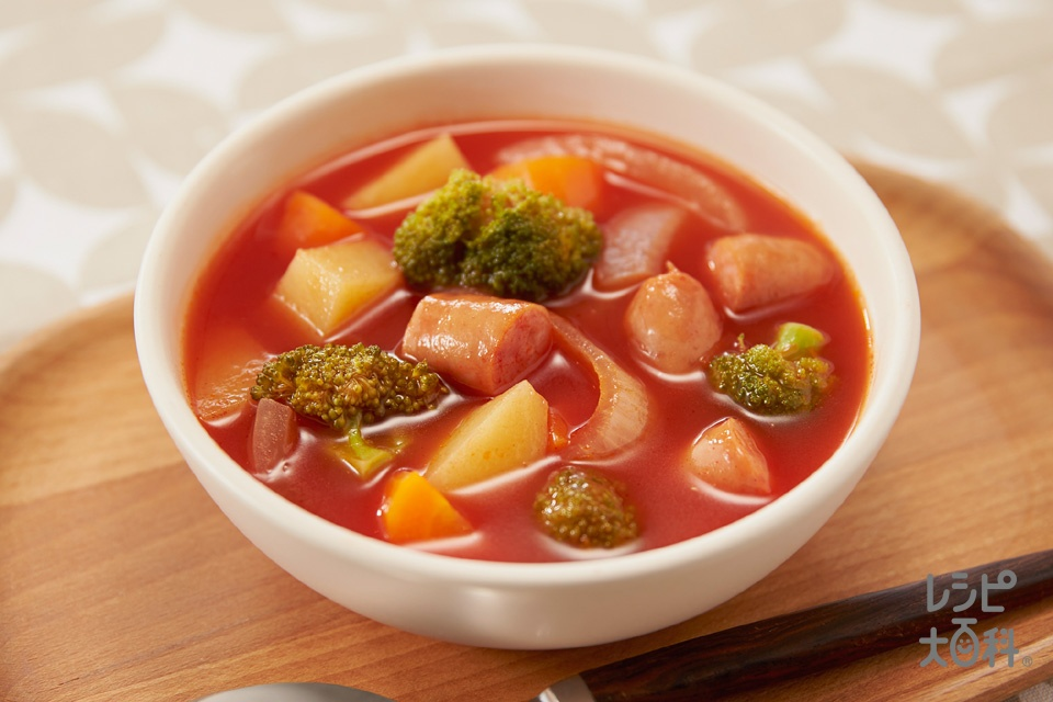 カラフル野菜のミネストローネ