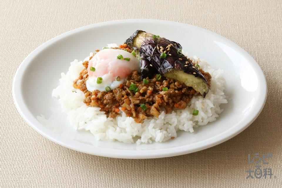 レンジで簡単!和風キーマカレー(豚ひき肉+玉ねぎを使ったレシピ)