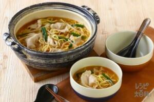 鍋の〆 とんこつ味噌ラーメン