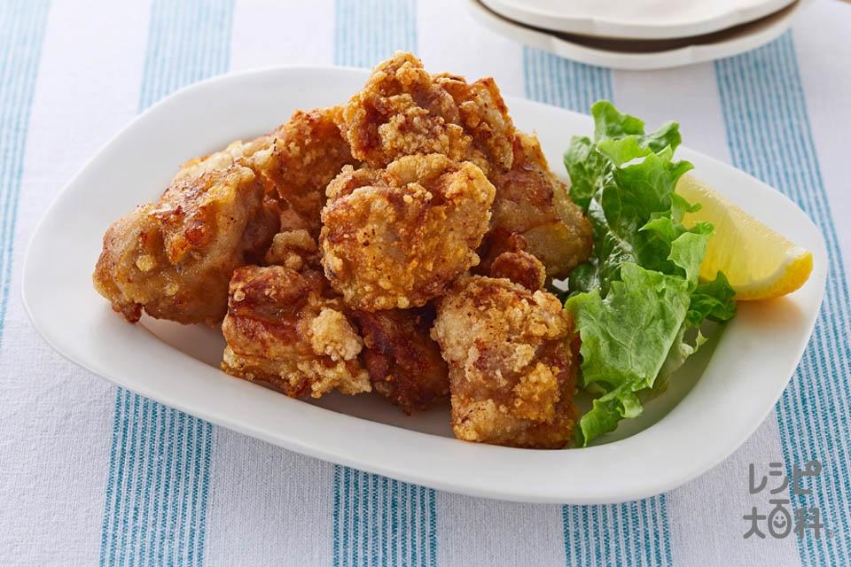 海鮮風味から揚げ(鶏もも肉を使ったレシピ)