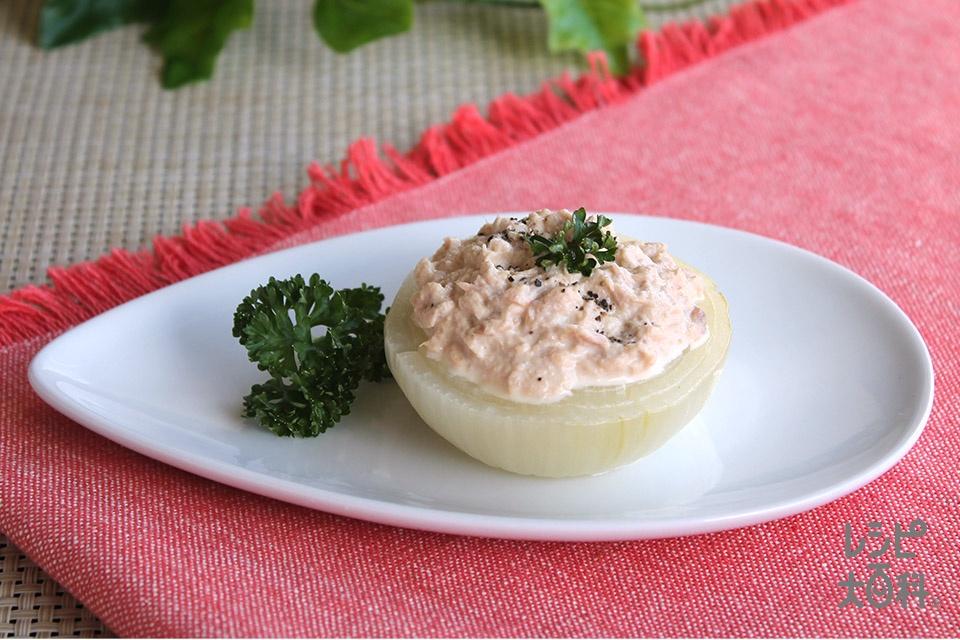 ツナソースの玉ねぎプレート(玉ねぎ+「味の素」を使ったレシピ)