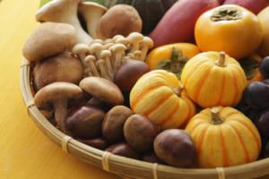 おいしいものだらけの秋だから。 インナービューティの助っ人「きのこ」の出番です!