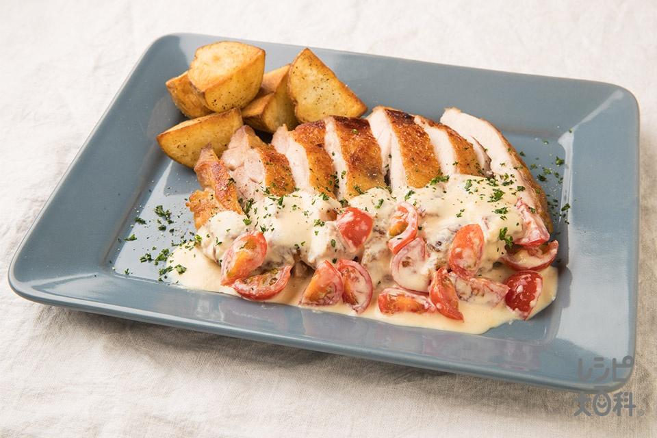 チキンソテー~簡単クリームソース~(鶏もも肉を使ったレシピ)