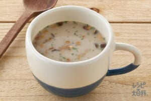 「クノール カップスープ」ミルク仕立てのきのこのポタージュ