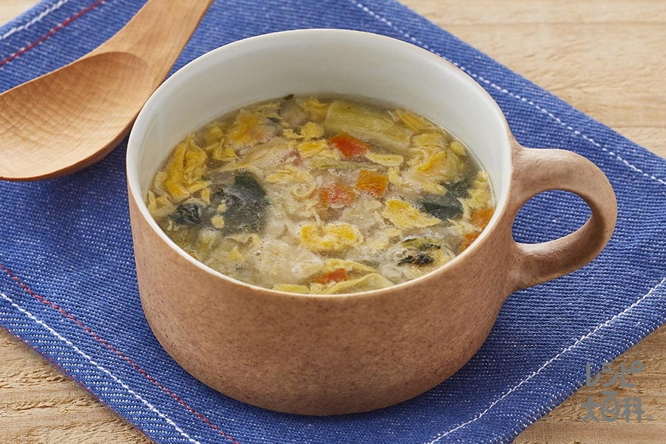 「クノール たっぷり野菜のちゃんぽん風スープ」