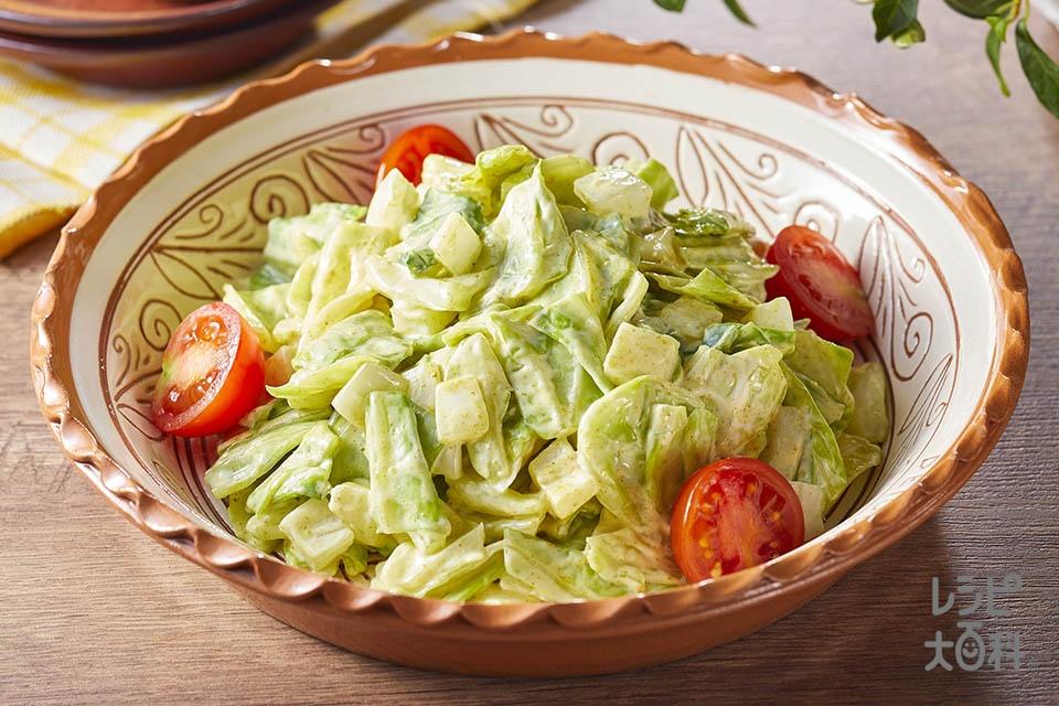 春キャベツと新たまねぎのカレーマヨサラダ(春キャベツ+新玉ねぎを使ったレシピ)