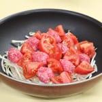 ひき肉とトマトのスパイシー蒸しの作り方_0_0