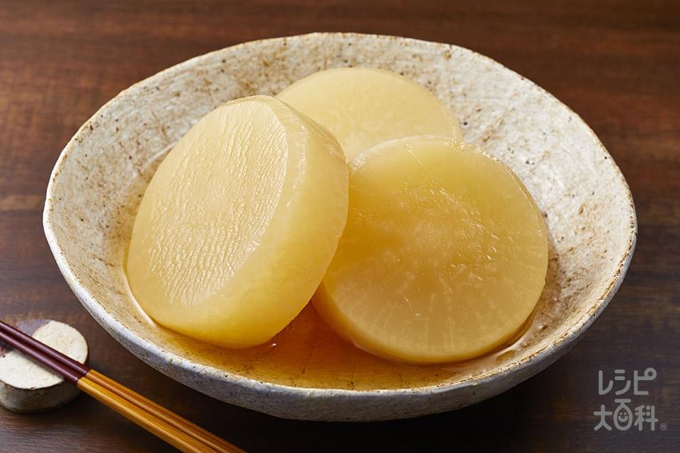 大根の含め煮(大根を使ったレシピ)