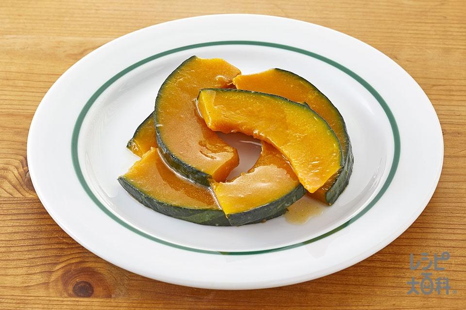 かぼちゃのレンジ温野菜♪バーニャカウダ味(かぼちゃを使ったレシピ)
