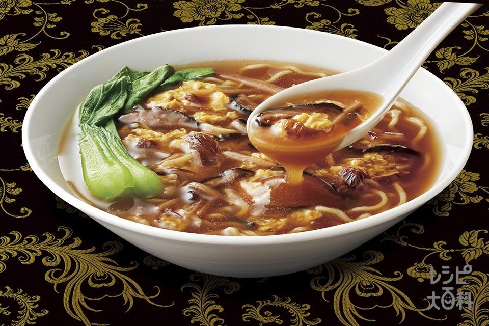 ふかひれ麺(中華めん+溶き卵を使ったレシピ)