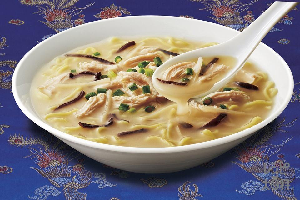 鶏だし白湯麺(中華めんを使ったレシピ)