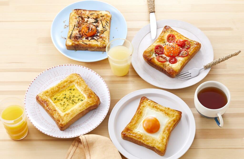 「ピュアセレクト®」で作る!こがしマヨたまトーストレシピ