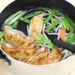 丸鶏がらスープ餃子の作り方_0_0