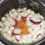 炊き込みたこキムチご飯の作り方_2_0