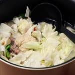 たっぷり野菜のネギごまスープの作り方_1_0