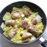 鶏肉の香りバター蒸し白菜添えの作り方_3_0