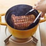 鶏と帆立だしの簡単煮豚の作り方_2_0