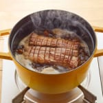 鶏と帆立だしの簡単煮豚の作り方_3_0