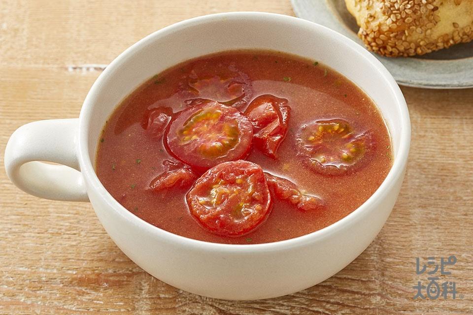 追いトマトのポタージュ(ミニトマトを使ったレシピ)