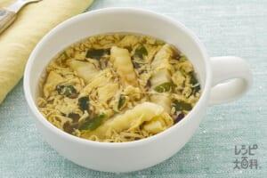 ポテトとたまごのスープ