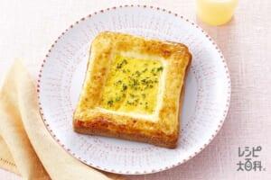 とき卵でつくる!こがしマヨたまトースト