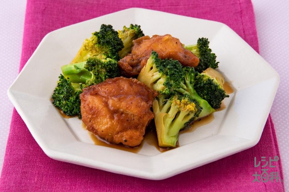 レンジで簡単!鶏からブロッコリーのオイスター風味(ブロッコリーを使ったレシピ)