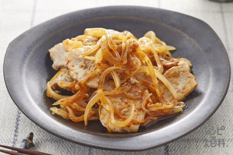 四川風豚の生姜焼き