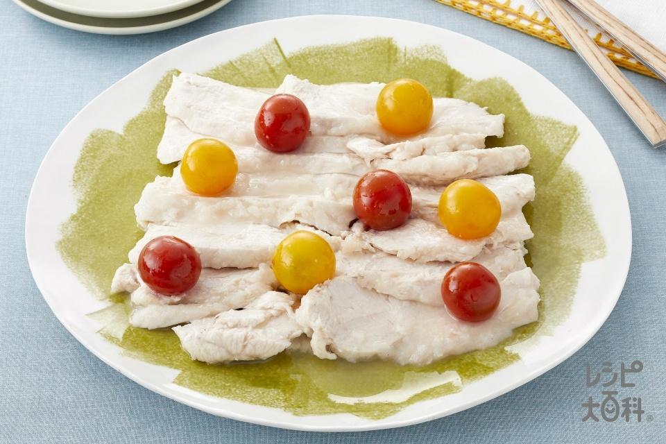 プチトマイタリアンチキン(鶏むね肉+ミニトマトを使ったレシピ)