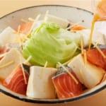 鮭と豆腐・キャベツのキムチレンジ蒸しの作り方_0_4