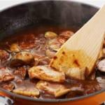 豚肉となすの炒めカレーの作り方_2_3