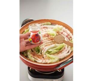 ≪塩分控えめ≫豚バラと白菜の重ね鍋の作り方_1_1