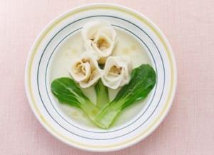 カンタン!薔薇スープ餃子の作り方_7_1