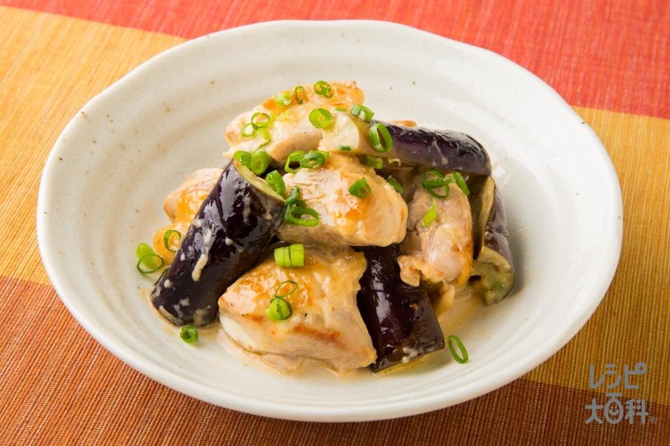 鶏肉となすのマヨネーズ焼き(鶏もも肉+なすを使ったレシピ)