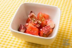 トマトとたこのお手軽マリネ