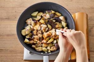 鶏肉となすの甘酢炒めの作り方_3_1