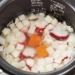 炊き込みたこキムチご飯の作り方_2_1