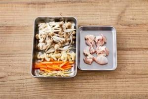 鶏ときのこのだし炊きご飯の作り方_1_0