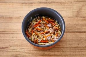 鶏ときのこのだし炊きご飯の作り方_2_0