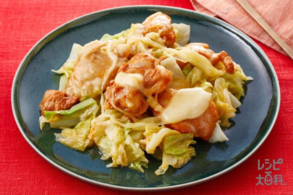 秒速 甘辛チーズダッカルビ(鶏もも肉+キャベツを使ったレシピ)