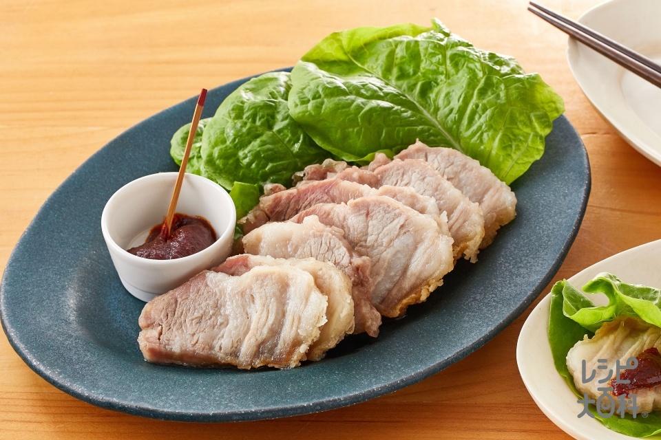 秒速 ジューシーサムギョプサル(豚バラ肉を使ったレシピ)