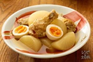 鶏と大根のだし煮withたまご