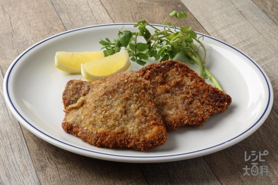 ミラネサ(牛肉のカツレツ)(牛もも赤身肉を使ったレシピ)